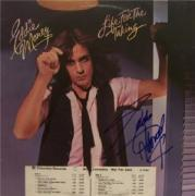 Eddie Money Signed Life for the Taking Promo