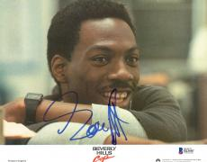 "Eddie Murphy Autographed 8"" x 10"" Beverly Hills Cop: Smiling Photograph - Beckett COA"