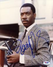 "Eddie Murphy Autographed 8""x 10"" 48 Hrs. Holding Gun Photograph - PSA/DNA COA"
