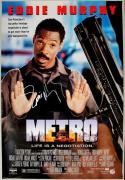 Autographed Eddie Murphy Picture - Metro 27x40 One Sheet Poster Psa dna #i81892