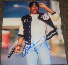 "Eddie Murphy Signed Autograph ""beverly Hills Cop"" Classic Image 11x14 Photo Jsa"