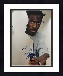 """EDDIE MURPHY SIGNED AUTOGRAPH """"BEVERLY HILLS COP"""" HUGE 16x20 MOVIE POSTER PHOTO"""
