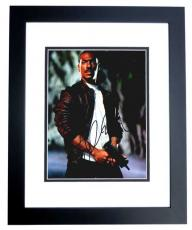 Eddie Murphy Signed - Autographed Beverly Hills Cop III 8x10 inch Photo as Axel Foley - BLACK CUSTOM FRAME - Guaranteed to pass PSA or JSA