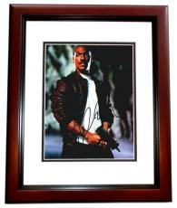 Eddie Murphy Signed - Autographed Beverly Hills Cop III 8x10 inch Photo as Axel Foley - MAHOGANY CUSTOM FRAME - Guaranteed to pass PSA or JSA