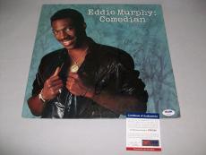 "EDDIE MURPHY signed autographed ""COMEDIAN"" LP PSA/DNA COA! RARE"