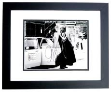 Eddie Murphy Signed - Autographed Coming to America B+W 11x14 inch Photo - BLACK CUSTOM FRAME - Guaranteed to pass PSA or JSA