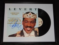 Eddie Murphy Signed Framed 1988 Coming to America Record Album Display JSA