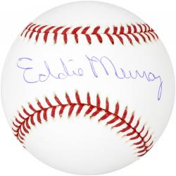 Eddie Murray Baltimore Orioles Autographed Baseball - Mounted Memories