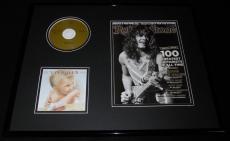Eddie Van Halen 16x20 Framed 1984 CD & 2011 Rolling Stone Display