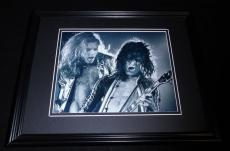 Eddie Van Halen & David Lee Roth Framed 8x10 Photo Poster