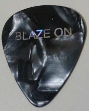 Eddie Van Halen Signature Blaze On Gray Pearl 2004 Tour Guitar Pick Rare