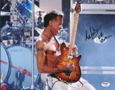 Eddie Van Halen Signed 11X14 Photo Auto Graded Perfect 10! PSA #U01304