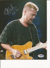 EDDIE VAN HALEN Signed 8 x10 PHOTO with PSA/DNA LOA & Graded 10