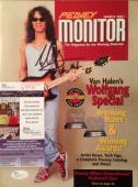 EDDIE VAN HALEN signed Peavey Monitor Magazine- JSA #N15732