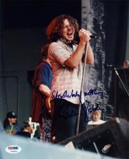 "Eddie Vedder ""Absolutely Nothing"" Signed 8X10 Photo Pearl Jam PSA/DNA #V10674"