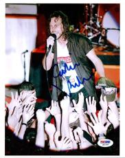 Eddie Vedder Authentic Autographed Signed 8x10 Photo Pearl Jam PSA/DNA