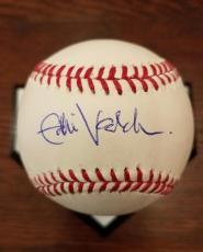 EDDIE VEDDER Autograph Cubs 100 Year Wrigley Field Signed BASEBALL JSA Certified