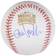 Eddie Vedder Autographed 2016 World Series Baseball - JSA LOA