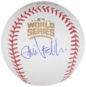 Eddie Vedder Autographed 2016 World Series Baseball - JSA LOA