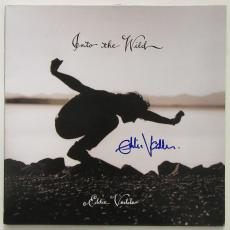 Eddie Vedder Autographed Into the Wild Album Signed PSA DNA Graded 9   Pearl Jam