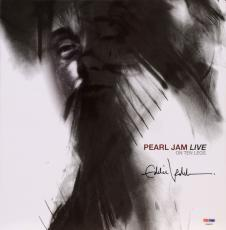 Eddie Vedder Autographed Pearl Jam Live On Ten Legs Album Cover - PSA/DNA COA