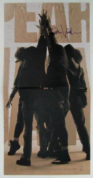 "Eddie Vedder Autographed Pearl Jam ""Ten"" Redux Album Signed PSA DNA COA"