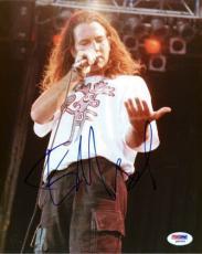 Eddie Vedder Autographed Signed 8x10 Photo Pearl Jam PSA/DNA #Q90456