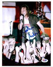Eddie Vedder Autographed Signed 8x10 Photo Pearl Jam PSA/DNA #Q91360