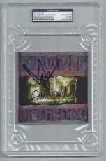 EDDIE VEDDER & CHRIS CORNELL signed auto'd TEMPLE OF THE DOG CD PSA/DNA SLABBED!