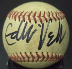 "Eddie Vedder ""pearl Jam"" Music Legend Signed Autographed Wilson Baseball W/coa"