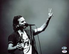 Eddie Vedder Pearl Jam Signed 11x14 Photo Autographed BAS #A85023