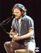 Eddie Vedder Pearl Jam Signed 11x14 Photo Autographed BAS #A85024