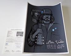 Eddie Vedder Pearl Jam Signed 3/24-25/2008 Kenyon Hall Seattle Poster Jsa Y68651