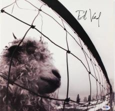 Eddie Vedder Pearl Jam Signed Album Cover Autographed PSA/DNA #U04050