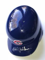 Eddie Vedder pearl jam signed Chicago Cubs batting helmet autographed psa dna