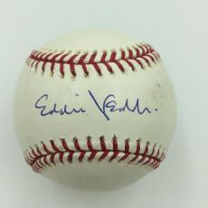Eddie Vedder Pearl Jam Signed Game Used Major League Baseball