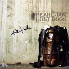 Eddie Vedder Pearl Jam Signed Lost Dogs Album Flat BAS #A02086