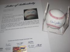 Eddie Vedder Autographed Baseball - Pearl Jam Official w PSA LOA