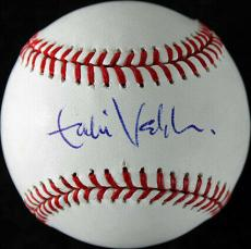 Eddie Vedder Pearl Jam Signed OML Baseball Autographed JSA #Y52069