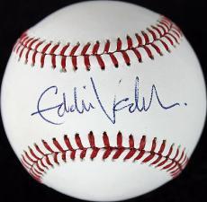 Eddie Vedder Pearl Jam Signed OML Baseball Autographed PSA/DNA #Y06701
