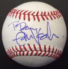 Eddie Vedder Pearl Jam Signed Rawlings Baseball Autographed JSA LOA To Danny