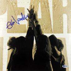 Eddie Vedder Pearl Jam Signed Ten (Reissue) Album Cover W/ Vinyl BAS #A05187