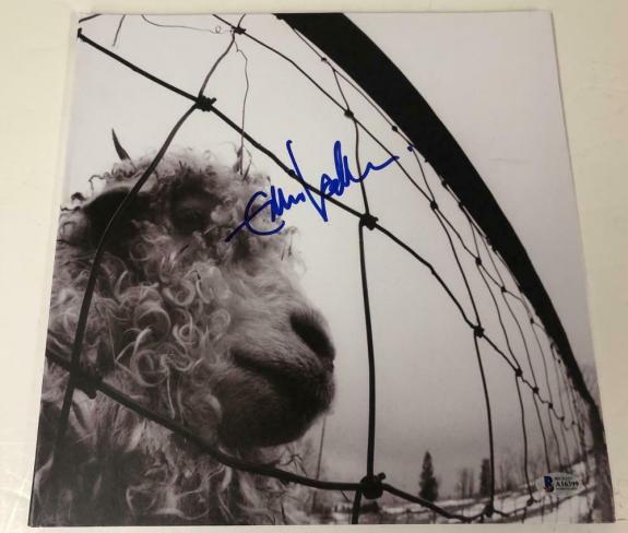 Eddie Vedder Pearl Jam Signed Vs. Album Vinyl Exact Proof Autograph Beckett Loa