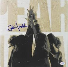 Eddie Vedder Signed Album Cover W/ Vinyl & Graded 10 Autograph! PSA/DNA #W04817