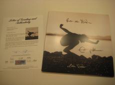 EDDIE VEDDER Signed INTO THE WILD Album w/ PSA COA GRADED 10