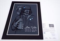 Eddie Vedder Signed Kenyon Hall Seattle March 24/25, 2008 Poster Jsa Loa Y68649