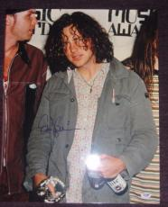 EDDIE VEDDER Signed MTV MUSIC AWARDS 16 x 20 PHOTO w/ PSA LOA - GRADED 10