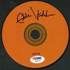 Eddie Vedder Signed Pearl Jam Cd W/ Graded 10 Autograph! PSA #W06167
