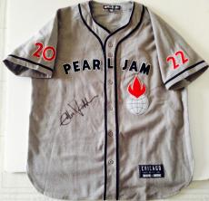 Eddie Vedder Signed Pearl Jam Jersey Wrigley Field Chicago Cubs Baseball PSA DNA