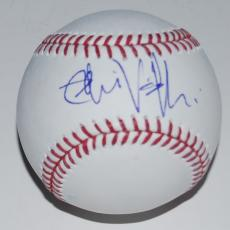 EDDIE VEDDER signed *PEARL JAM* OML baseball (CHICAGO CUBS) W/COA ALL THE WAY #1